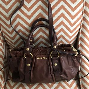 Handbags - MIU MIU two way bag